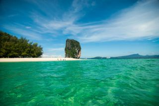 Poda Island part of 4 Island Tour Krabi October 2013