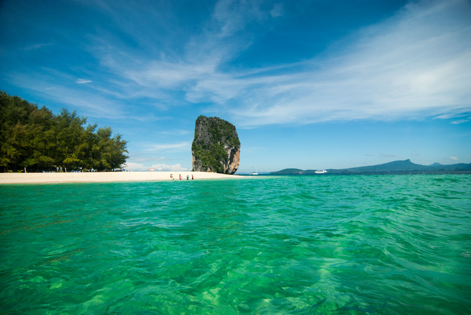 Krabi 4 Island Tour By Longtail & Speedboat
