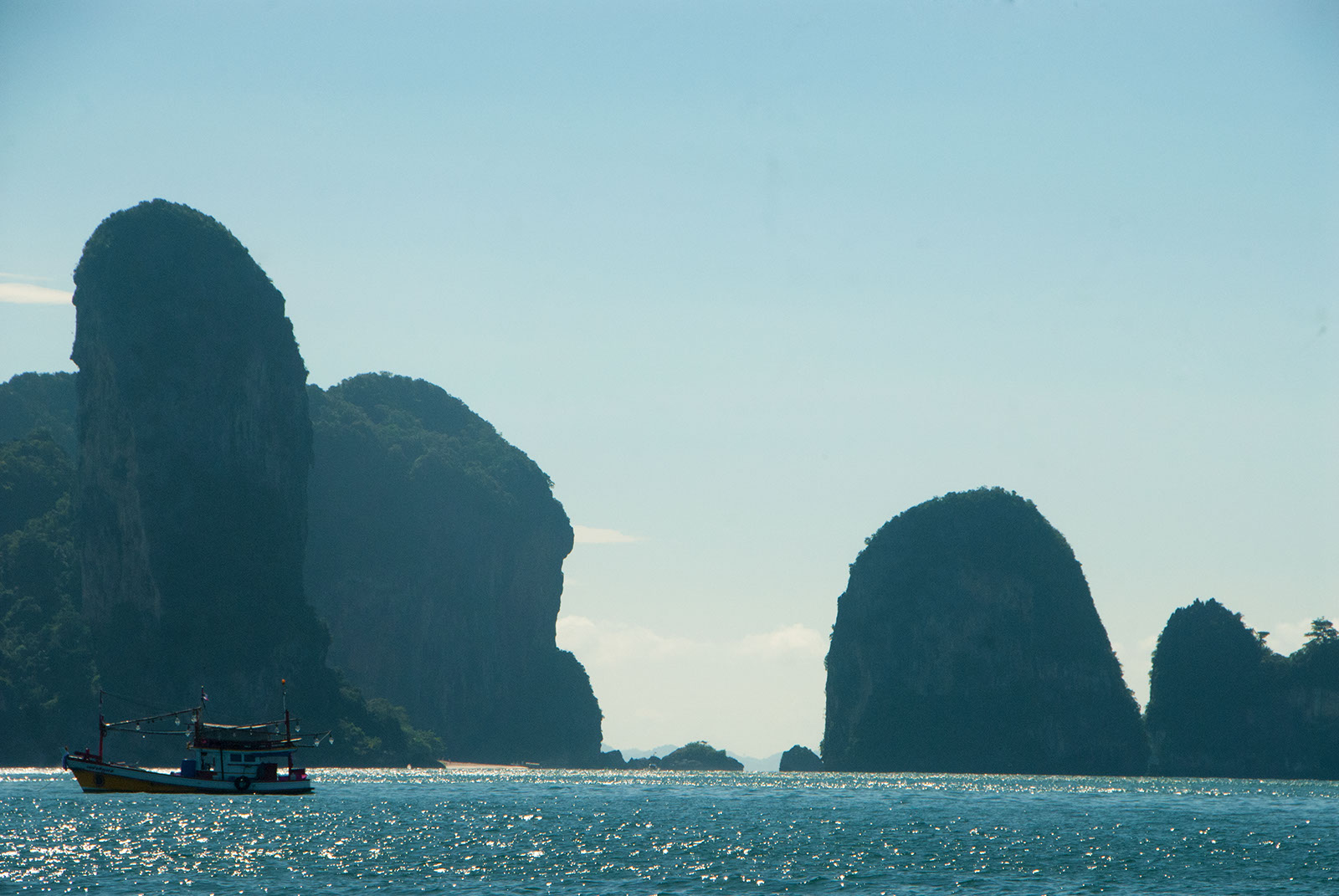 Krabi Island Hopping with Private Boat Charter