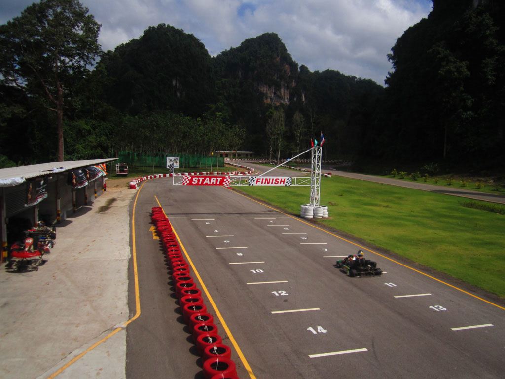 Krabi Gokart track - new track with good surface